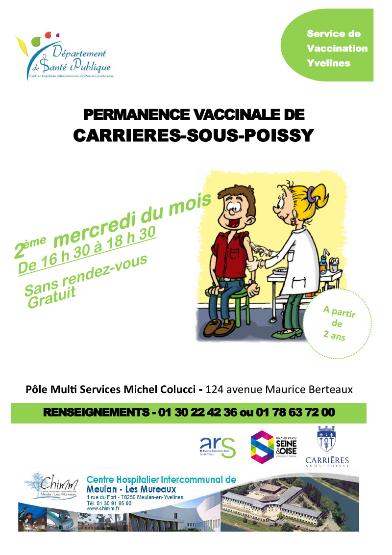 Calendrier Vaccinations 2020.Carrieres Sous Poissy