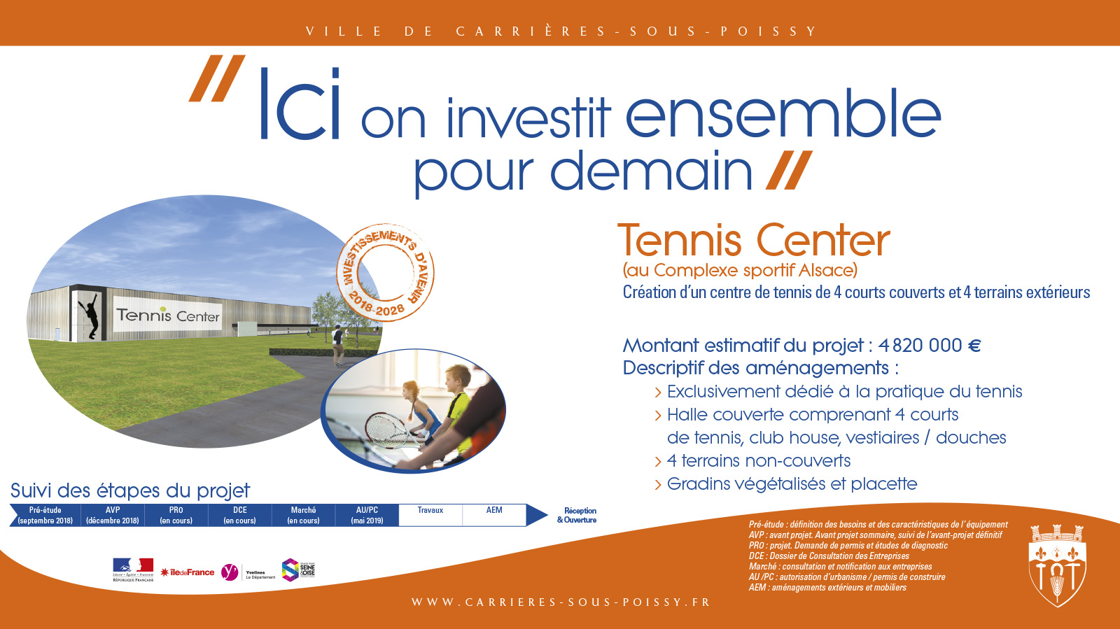 Projet Tennis Center